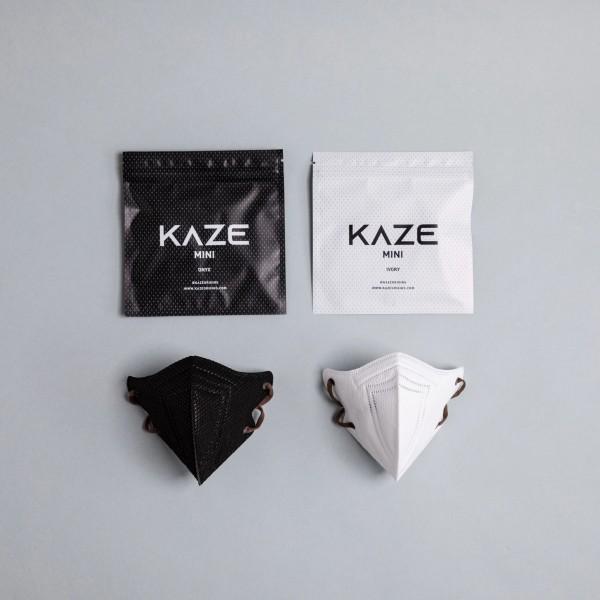 "10 Stück/2 Farben á 5 Stück Atemschutzmaske KAZE Mini ""Mono Series"""