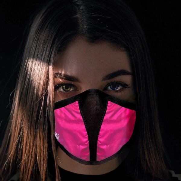 Mund- und Nasenschutz Maske pink