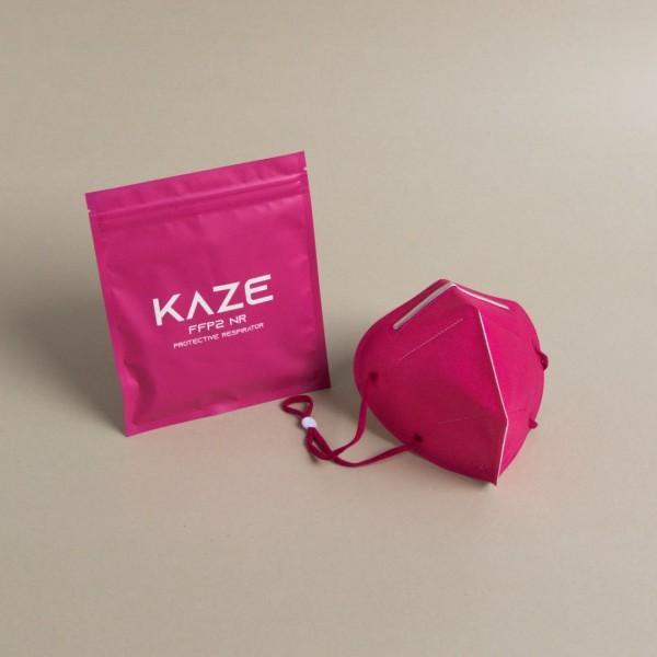 10 Stück Atemschutzmaske Typ FFP2 NR Fuchsia/Pink