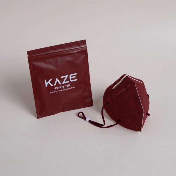 Atemschutzmaske Typ FFP2 NR Maroon/Kastanienbraun