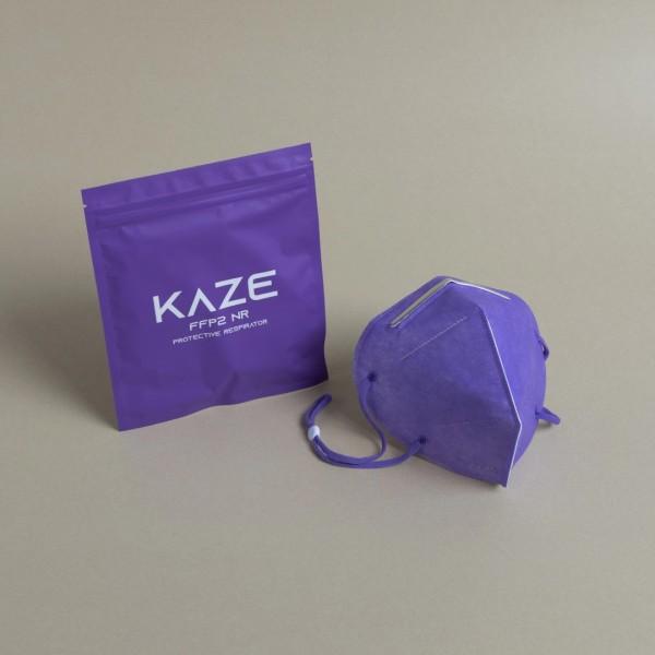 Atemschutzmaske Typ FFP2 ultraviolet/Ultraviolett