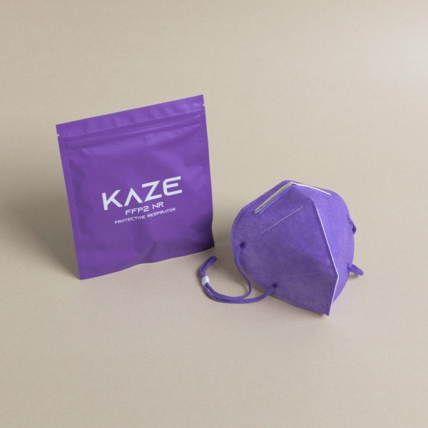 10 Stück Atemschutzmaske Typ FFP2 ultraviolet/Ultraviolett