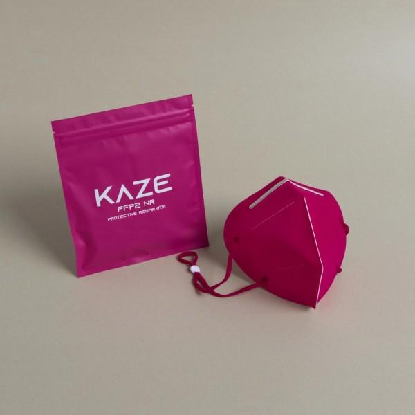 Atemschutzmaske Typ FFP2 NR Fuchsia/Pink