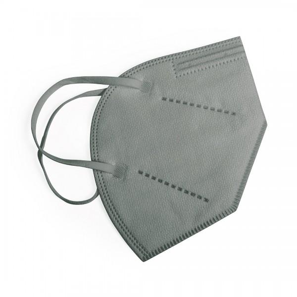 Atemschutzmaske FFP2 Farbe Grau EN149:2001+A1:2009, CE 2834 zertifiziert